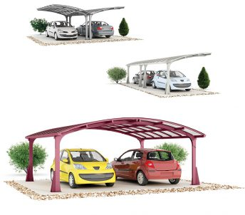 Jean Rodolphe Rutter - illustration 3D carport x3